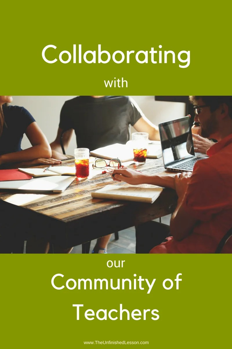 Collaborating with our community of teachers