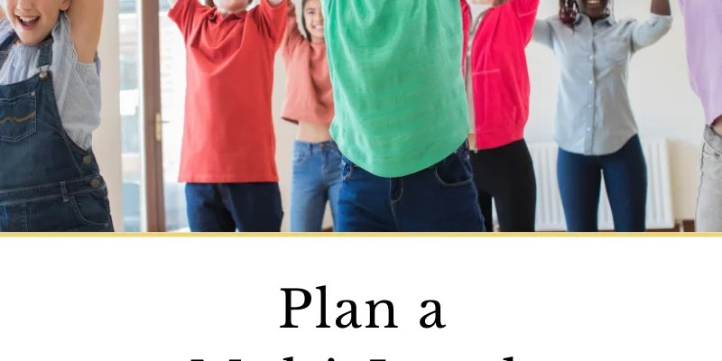 How to Plan a Multi-Level Group Lesson