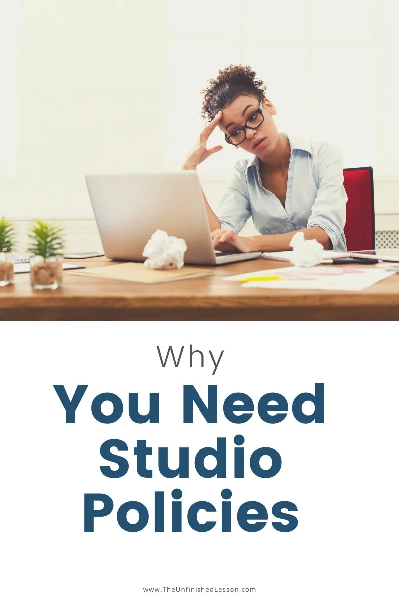 Why You Need Studio Policies