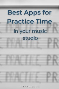 Best Apps For Practice Time in Your Studio