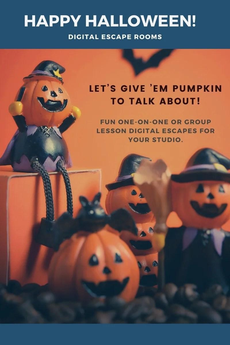 Happy Halloween Escape Rooms