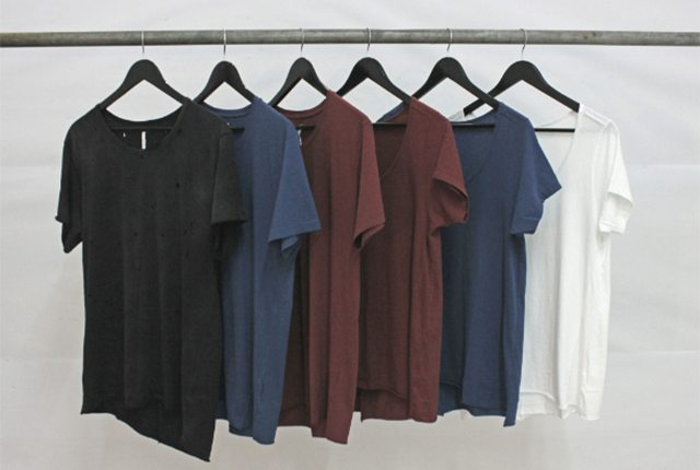 Rack of Commoners' Basic Tees