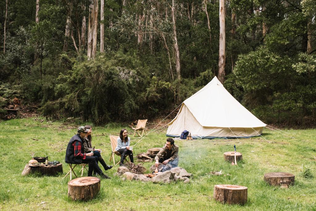 homecamp glamping flinders bell tent