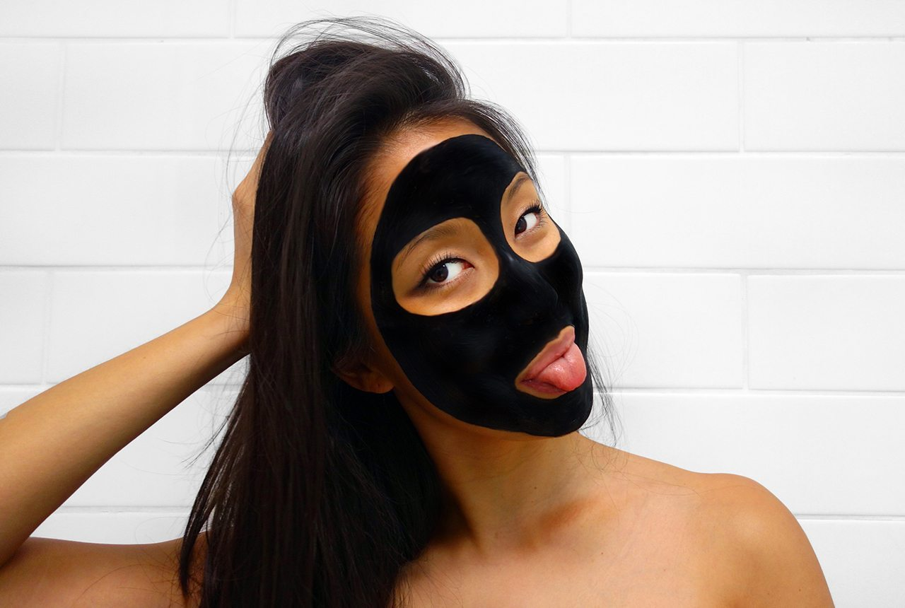 comme.co ultra fine activated charcoal diy face mask acne pimples zits natural vegan