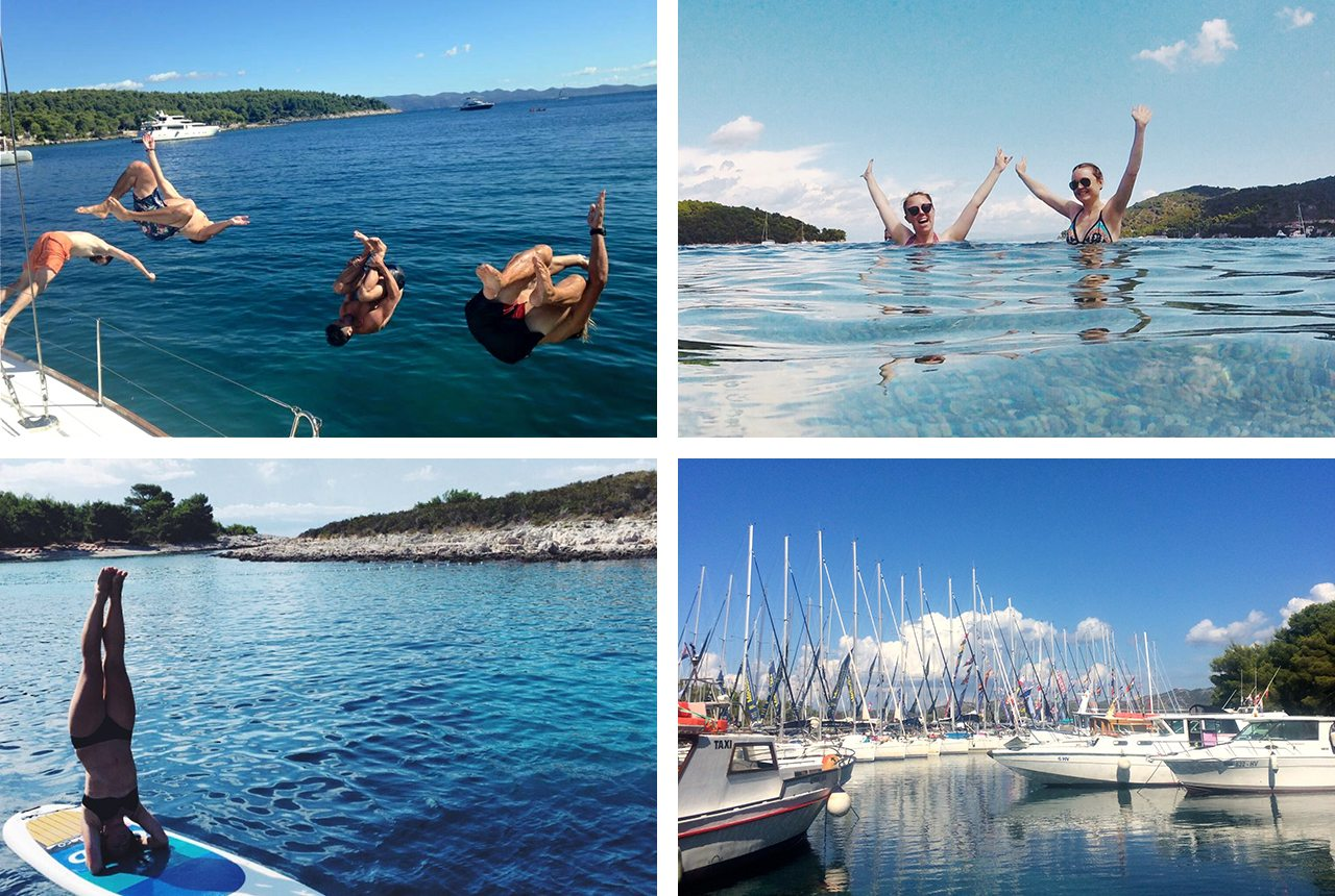 medsailors and the unimpossibles epic sailing around croatia