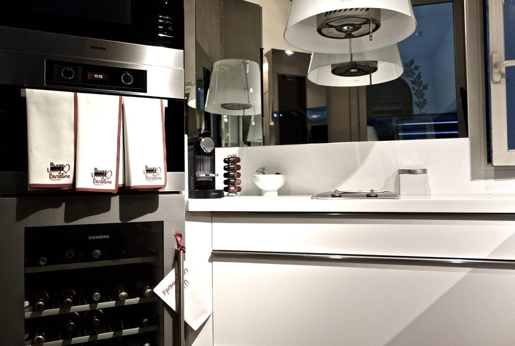 El Palauet Living Barcelona Luxury Hotel Apartments Kitchen