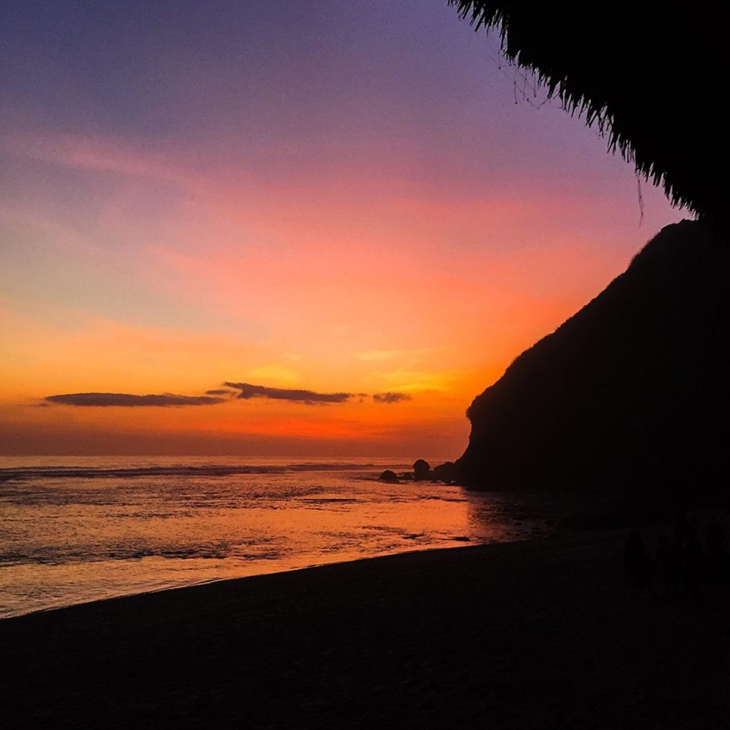 karma beach club luxury private beach bali uluwatu sunset