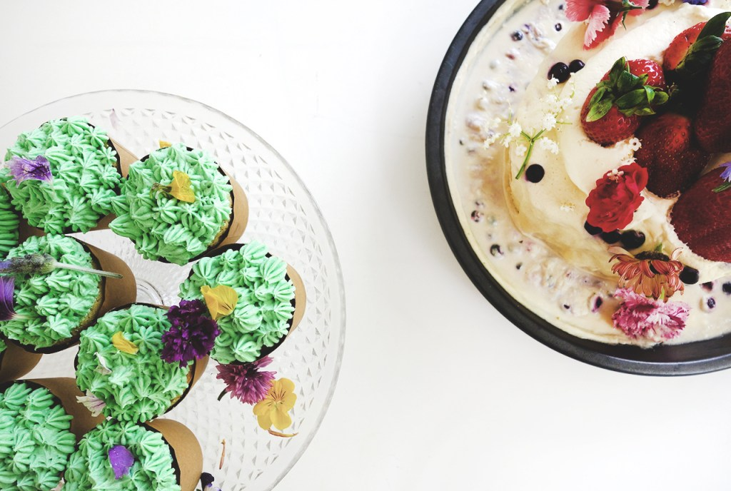 Mexican Themed Hens Night Food Cactus Cupcake Pineapples