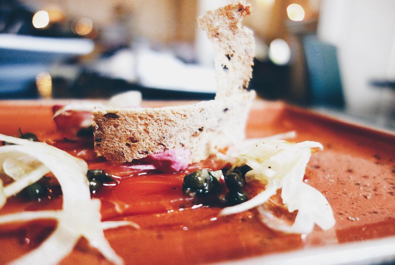 Logan Brown Wellington New Zealands Best Restaurant Bistro Menu Lighthouse Gin Cured King Salmon