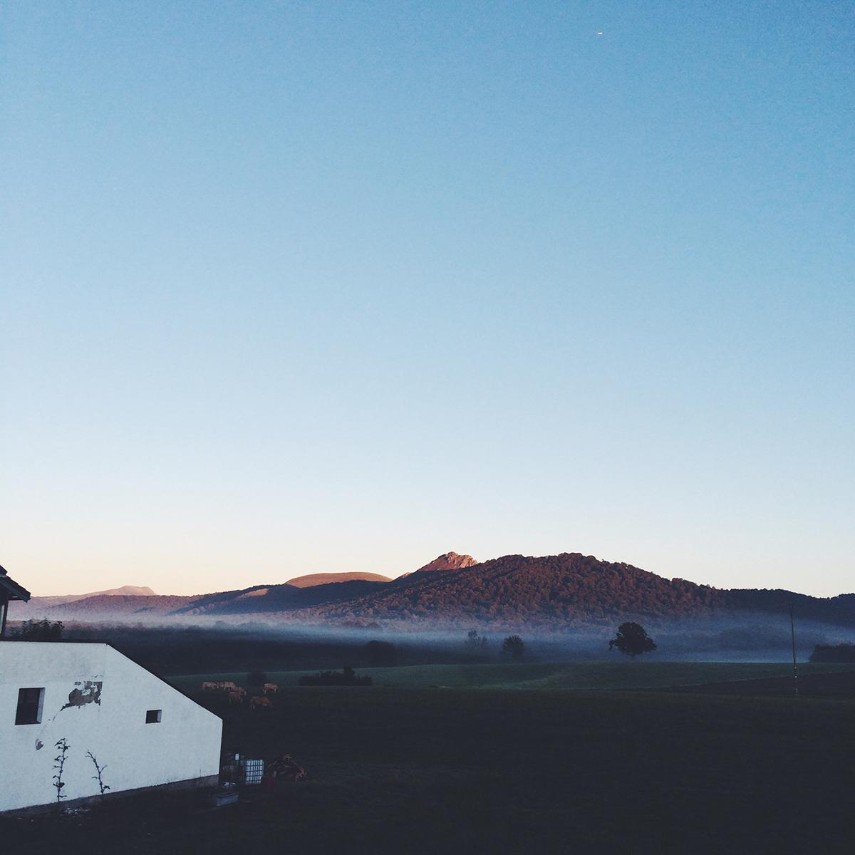 El Camino Beautiful Morning Hills