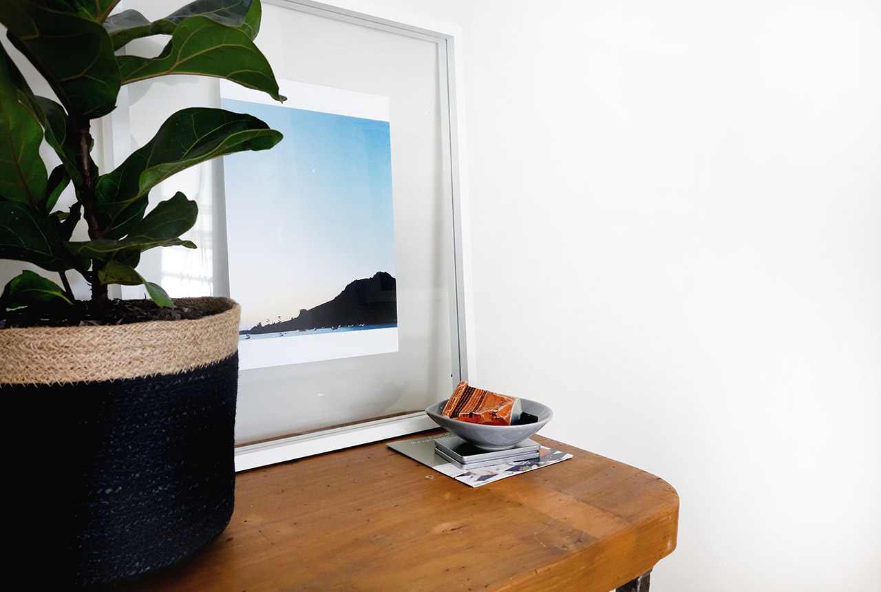 surry-hills-sydney-luxury-apartment-fiddle-fig-tree-diy-industrial-side-table-with-caster-wheels-30