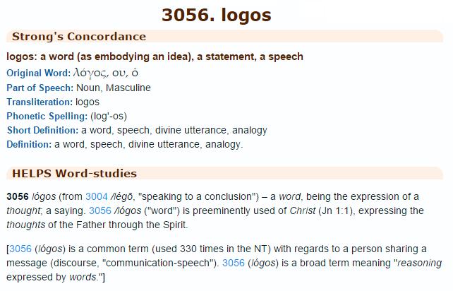 strongs-3056 logos