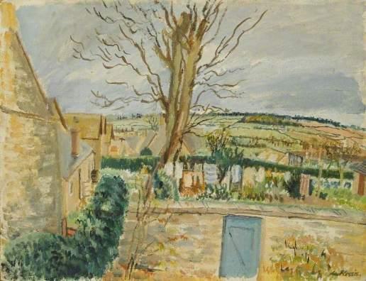 Du Plessis, Enslin; Cotswold Landscape; Arts Council Collection; http://www.artuk.org/artworks/cotswold-landscape-63339