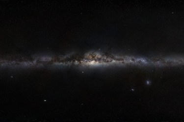 Milky Way as seen from Earth