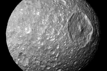 Mimas, moon of Saturn