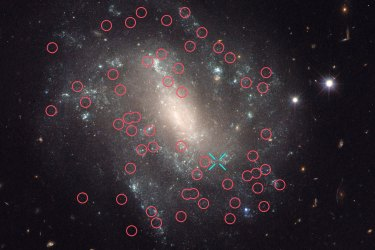 The Universe The Supernova and Cepheids of Spiral Galaxy UGC 9391