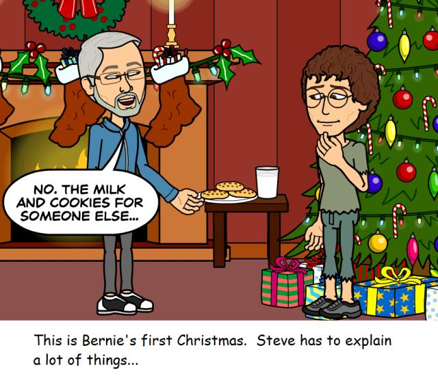 merry christmas - cookies