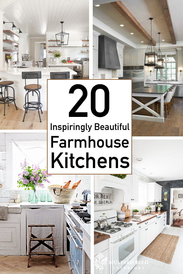 20 breathtaking farmhouse kitchens with fixer upper style
