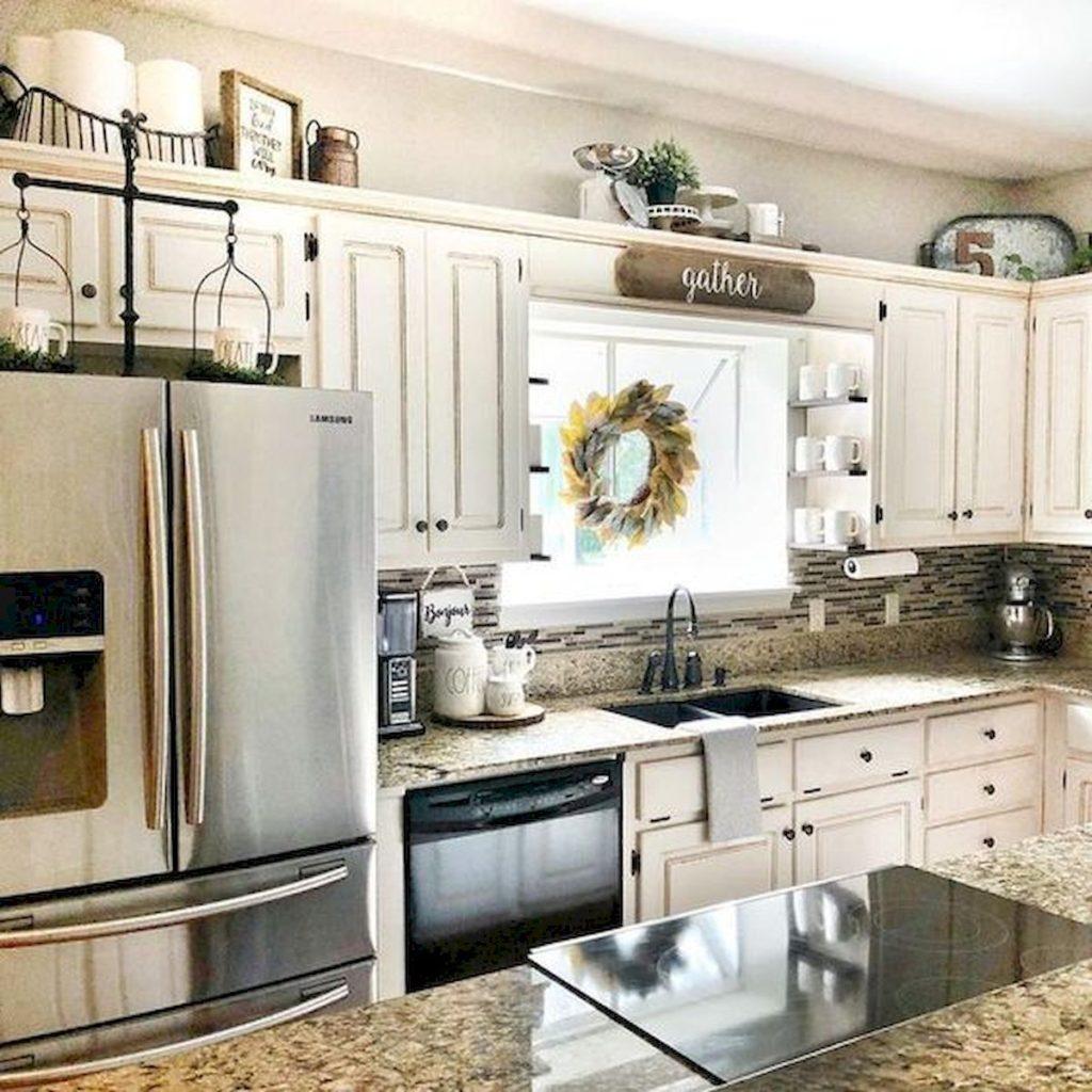 15 Kitchen Decor Ideas With Farmhouse Style | The Unlikely ... on Farmhouse Kitchen Counter Decor Ideas  id=86412