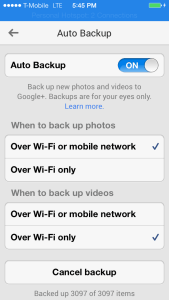 Google Plus Backup