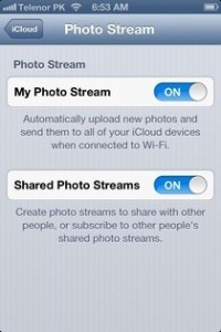 iOS 6Delete Photo Stream