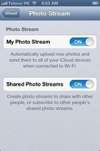 iOS 6Delete Photo Stream