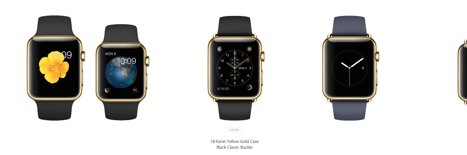 Apple Watch Edition Models