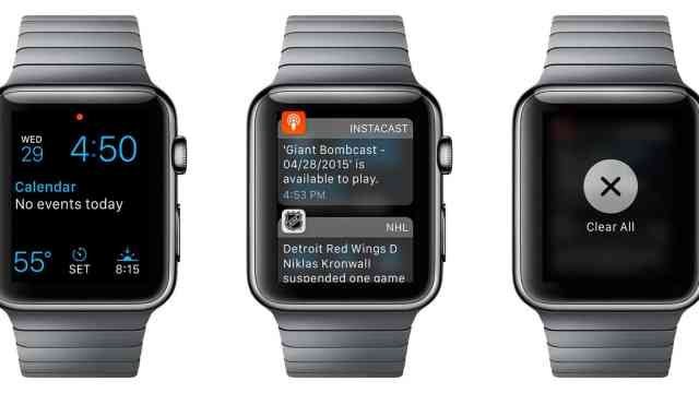 Apple Watch Clear Notifications