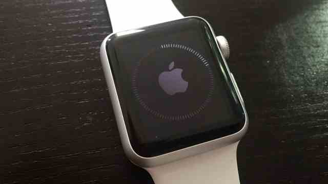 Update the Apple Watch