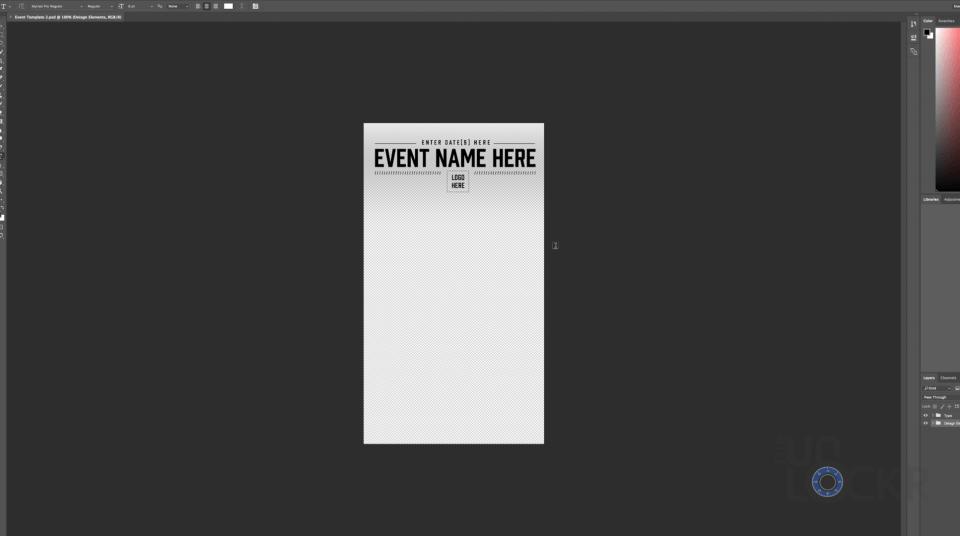 Adobe Photoshop Template