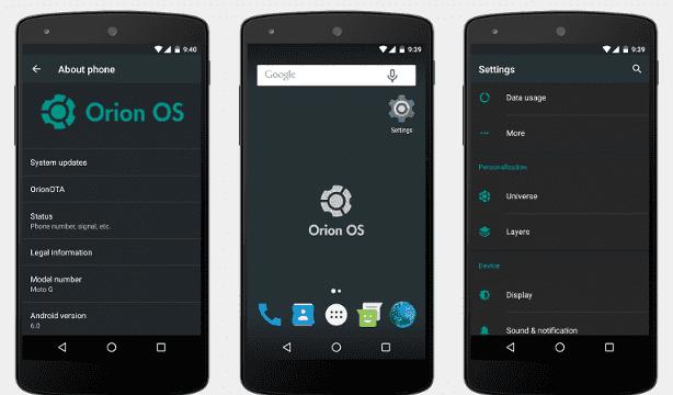 Orion OS v2.3 ROM