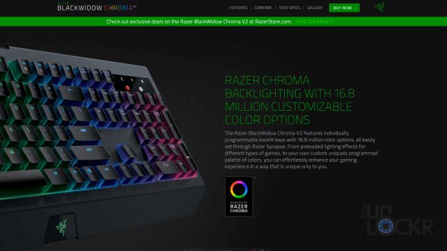 Razer Keyboard Giveaway