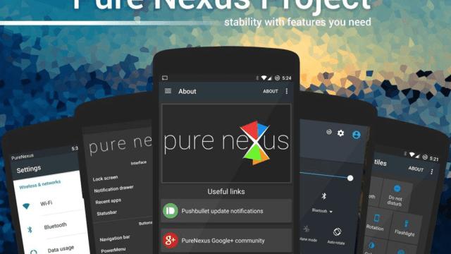 Pure Nexus ROM for Moto G4 Plus