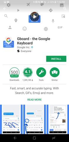 Install Gboard