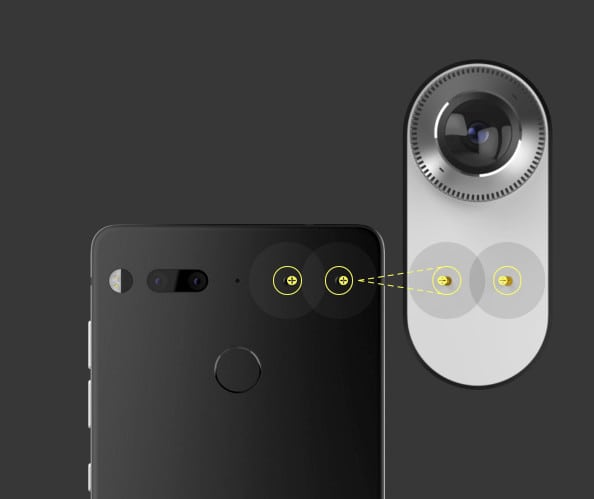 Essential Phone Connector Points