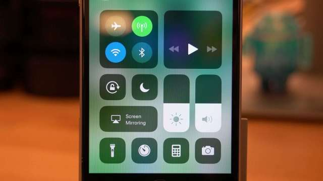 iOS 11 Beta Control Center