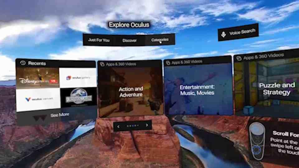 Oculus Go Home
