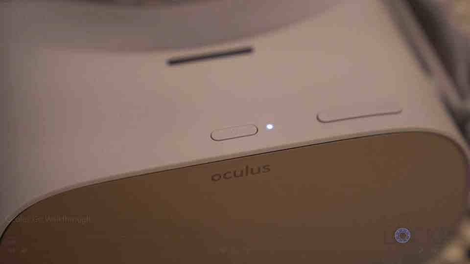 Oculus Go LED