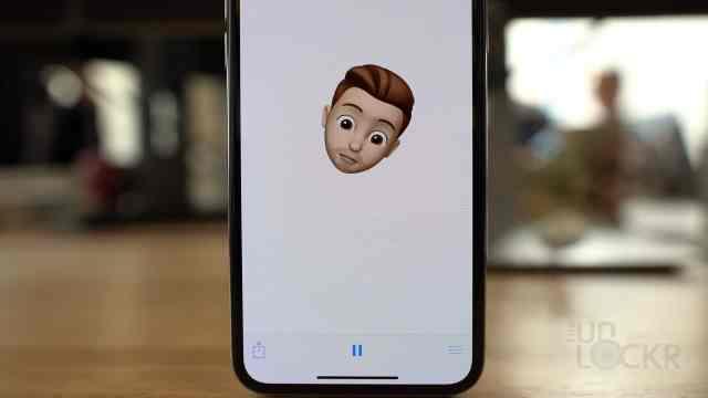 Memoji as a Video