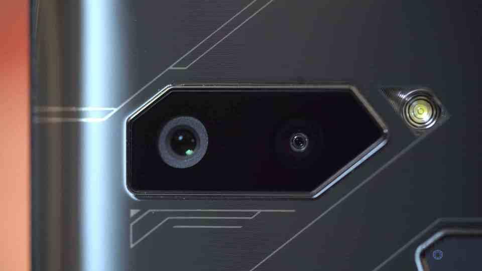 Close Up of Rear Cameras