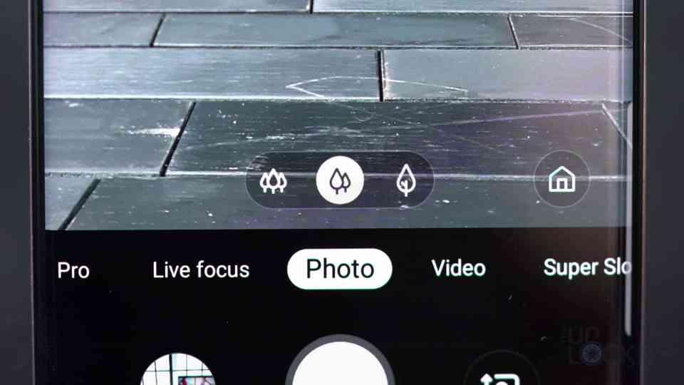 Samsung Three Camera UI