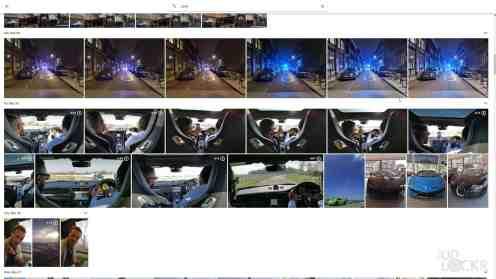 Cars in Google Photos