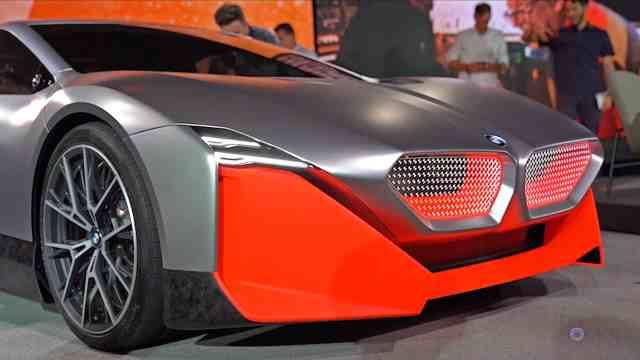 BMW Vision M Next Concept Car