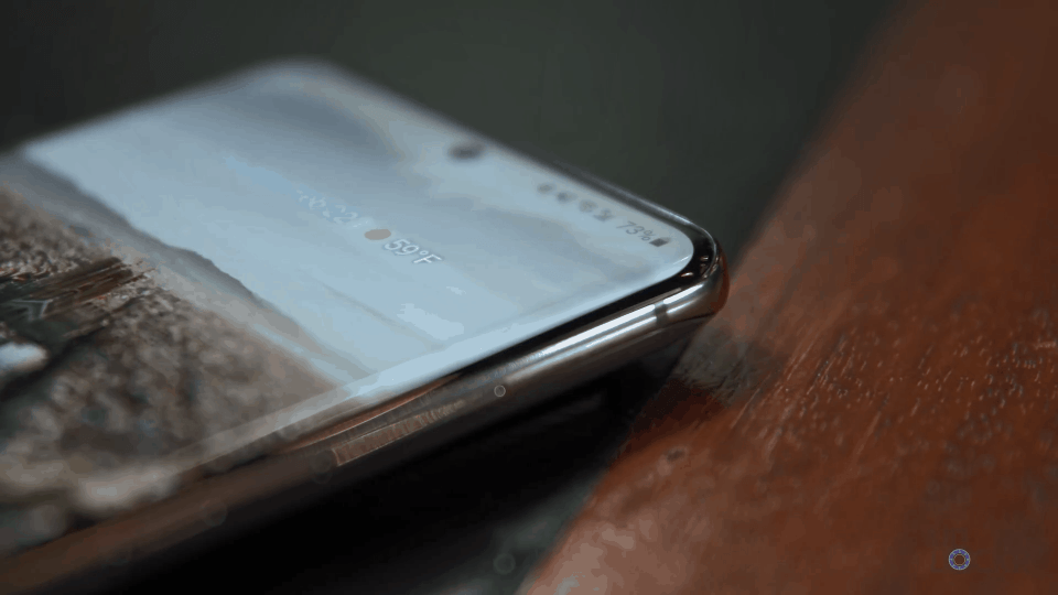 Galaxy S20 Ultra Curved Display