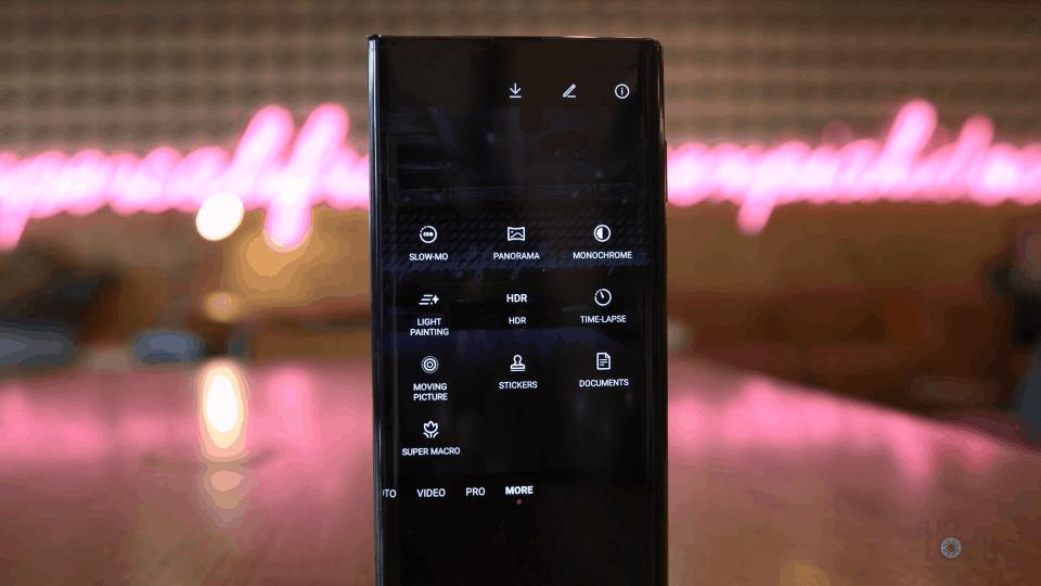 Huawei Mate XS Camera Modes