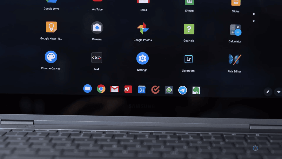 ChromeOS Dock
