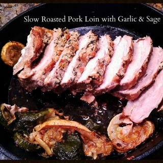 5 Days – 5 Lunches  – Roasted Pork Loin with Pesto Mac and Kale