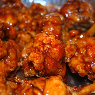 Chicken Wing Lollipops
