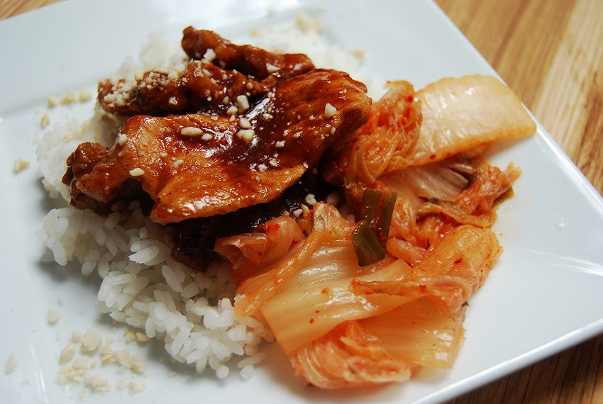 Korean Spicy Pork