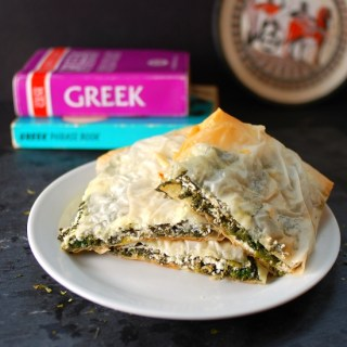 Spinach Chevre Pies